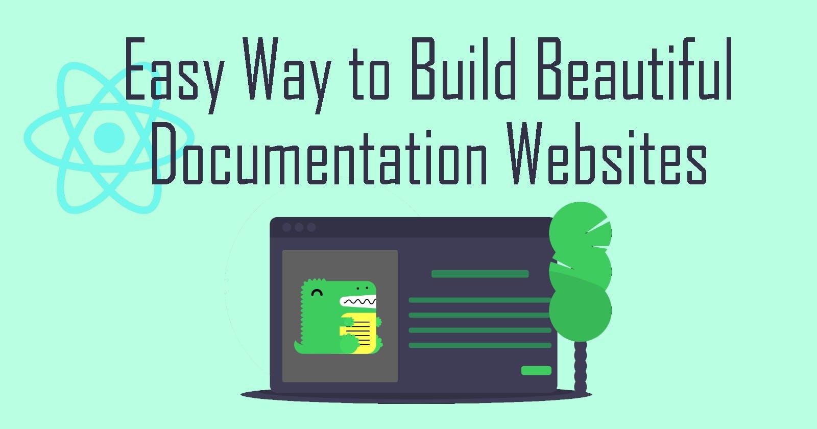 Build Beautiful Documentation Websites with Docusaurus