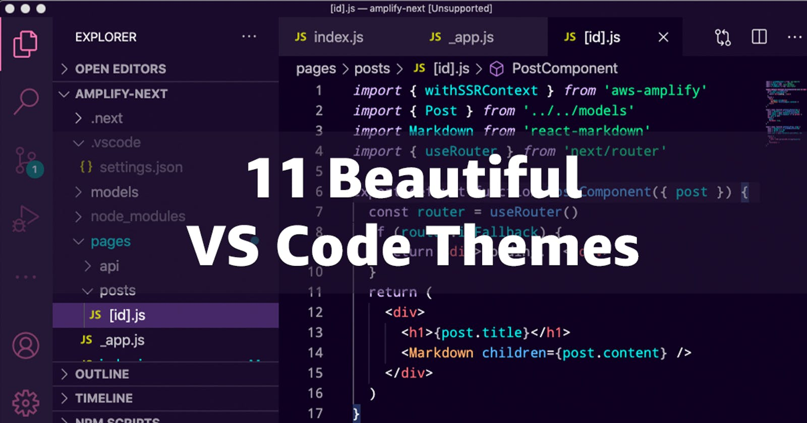 11 Beautiful VS Code Themes for 2021
