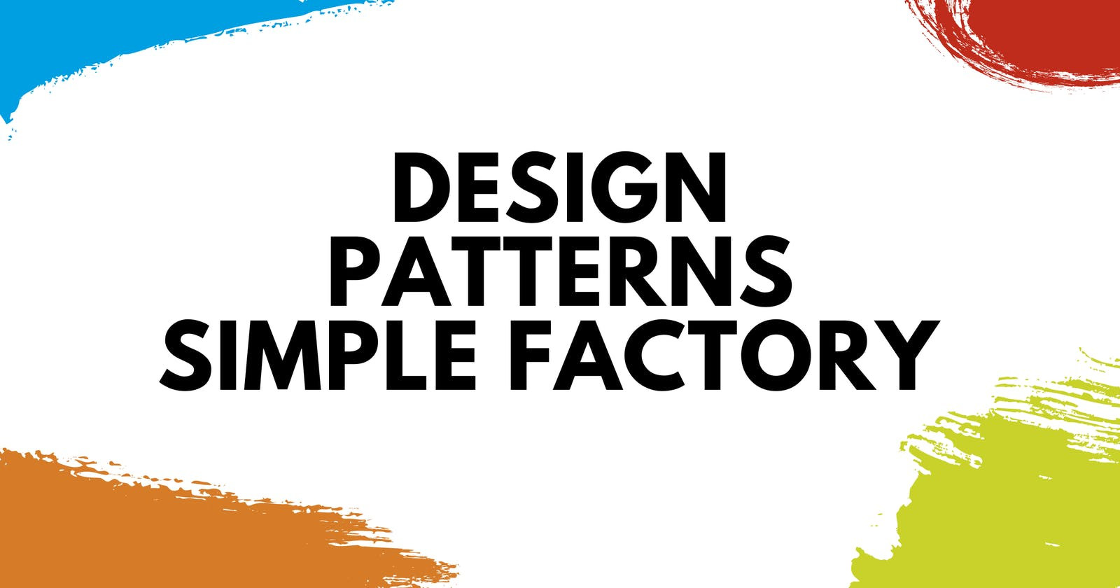 Design Patterns That Make Sense in Python: Simple Factory