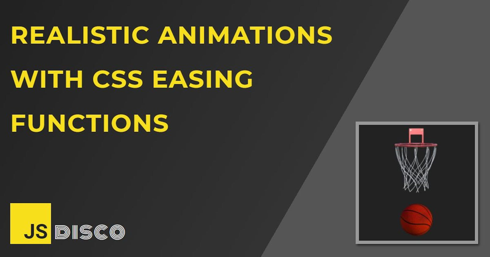 Realistic animations with CSS easing functions: Bouncing balls, pendulums and tossing books