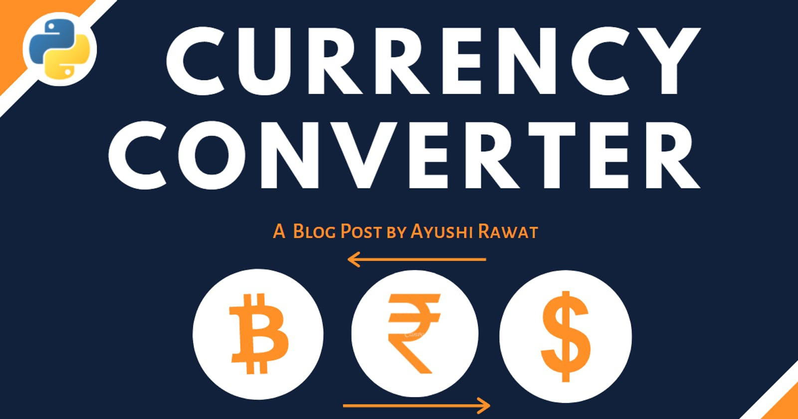 Currency Converter using Python