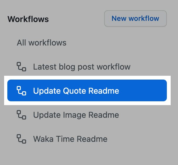 Step 3 Update Quote Readme