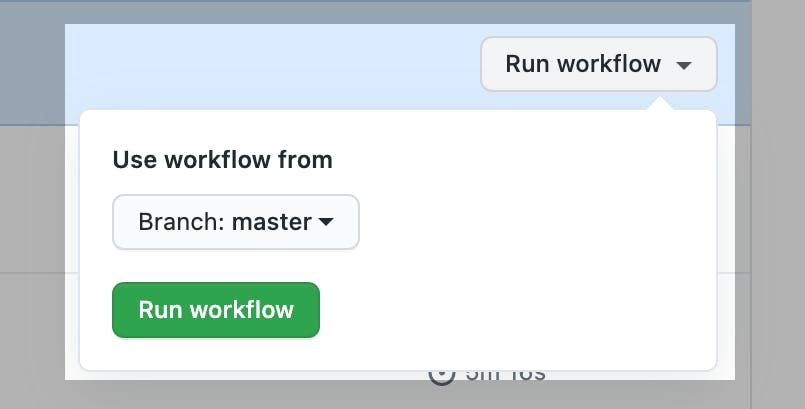 Step 3 Run Workflow