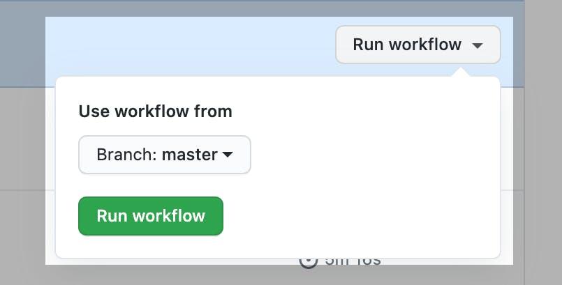 Step 3 Run Workflow