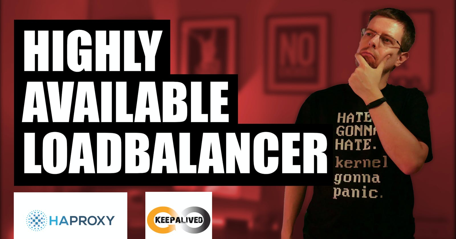 How to: highly available load balancer — HAProxy with Keepalived