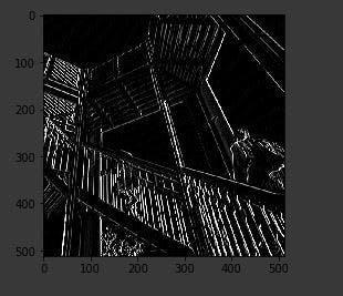 Vertical line filter