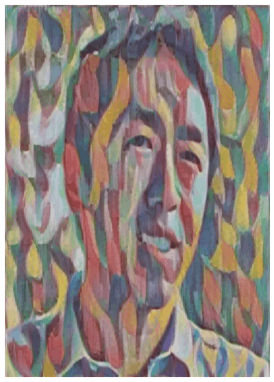 The output ofNeural Style Transfer