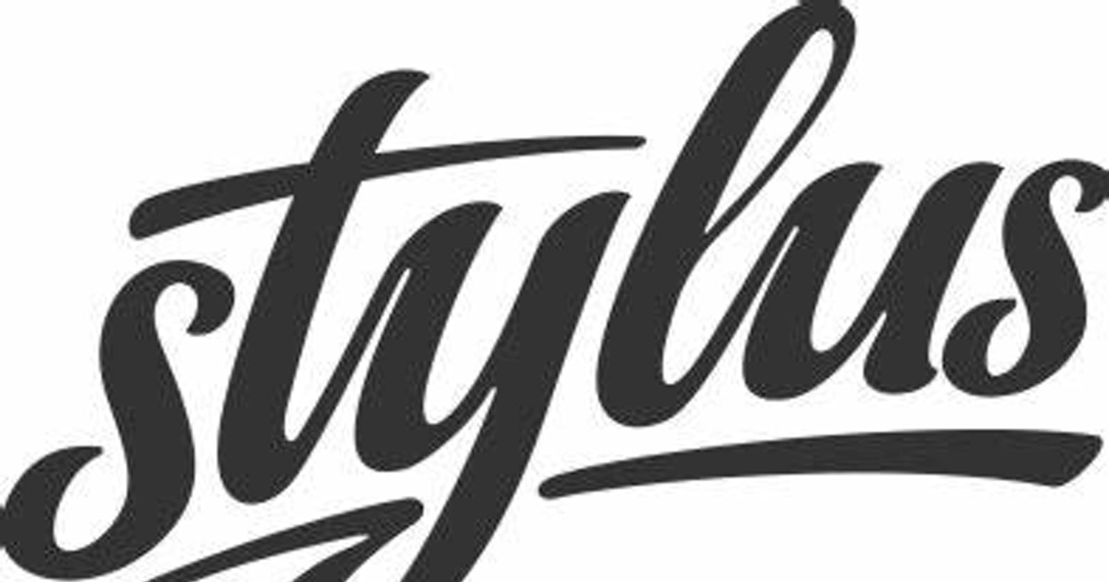 Creating a Stylus Library