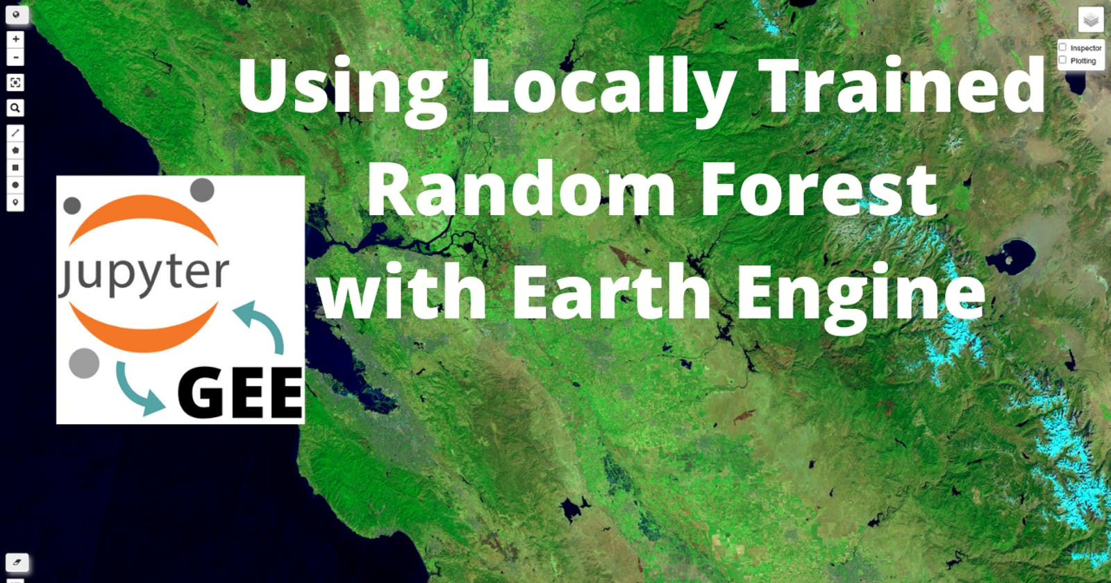 GEE Tutorial #46 - How to use locally trained machine learning models with GEE