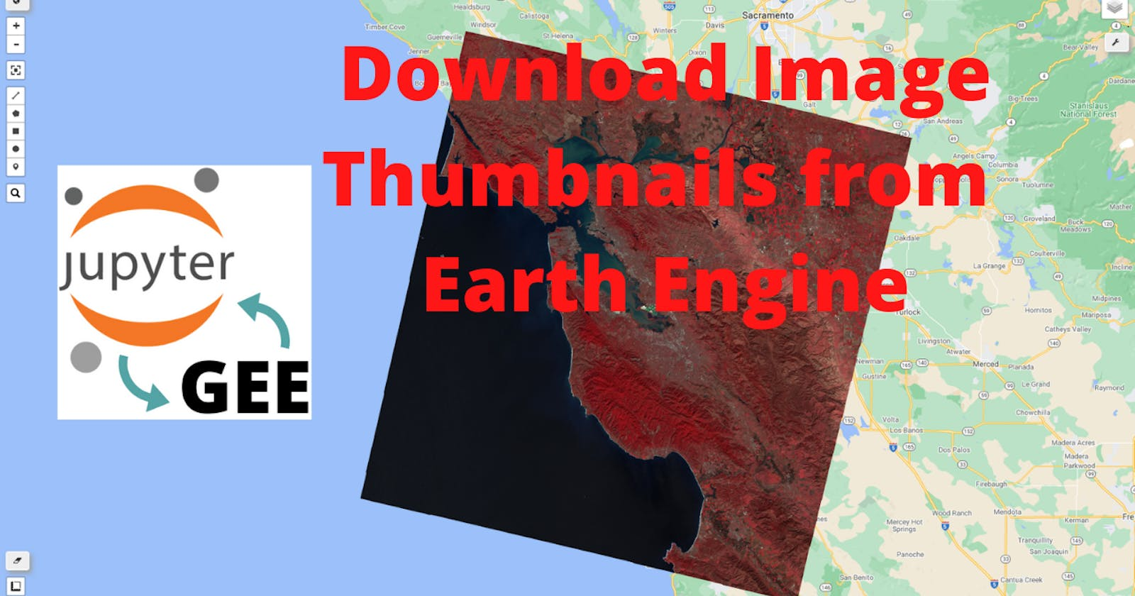 GEE Tutorial #47 - How to download image thumbnails from GEE