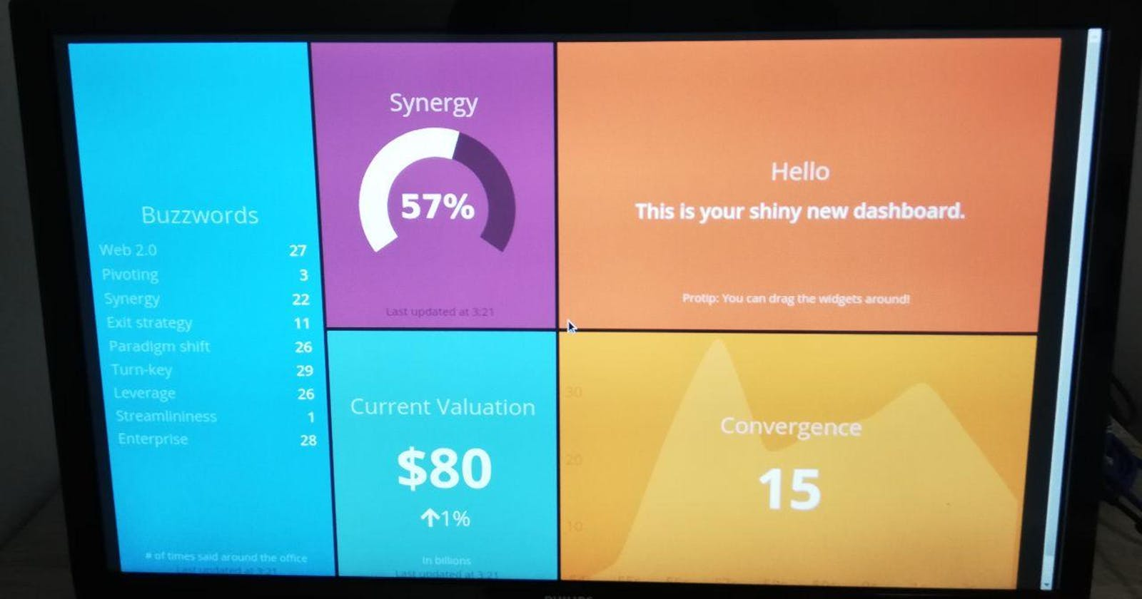 How to set up a Smashing dashboard on your Raspberry Pi