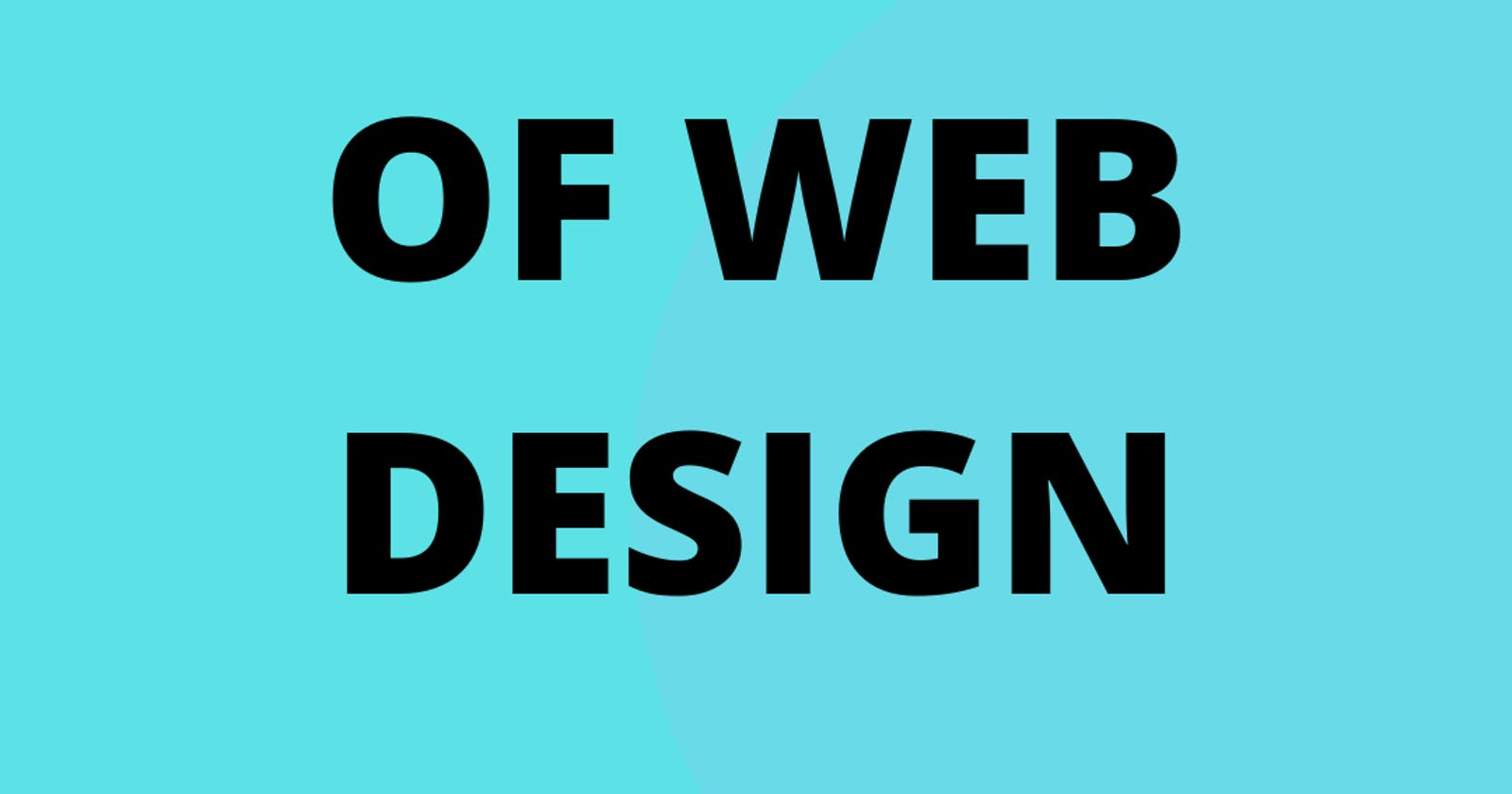 What I learned from 30 days of Web Design
