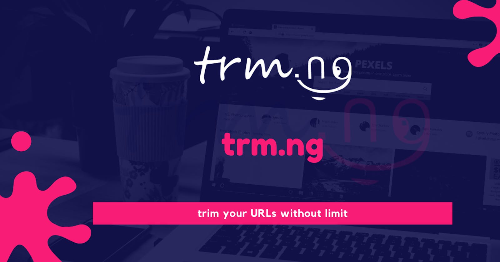 trm.ng URL trimming service, Prima trimmer Africa.