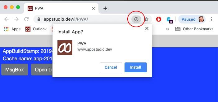 PWA-app-installation