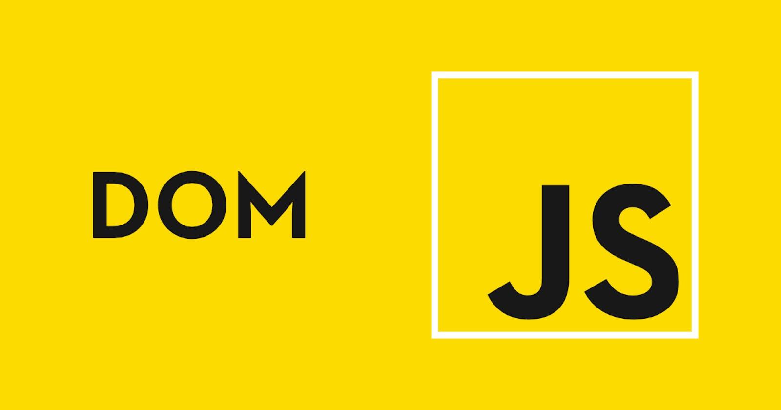 Introduction to JavaScript DOM manipulation