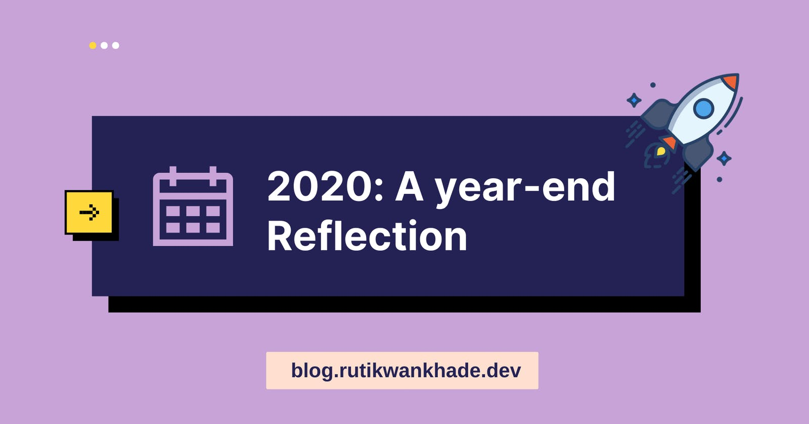 2020: A year-end reflection