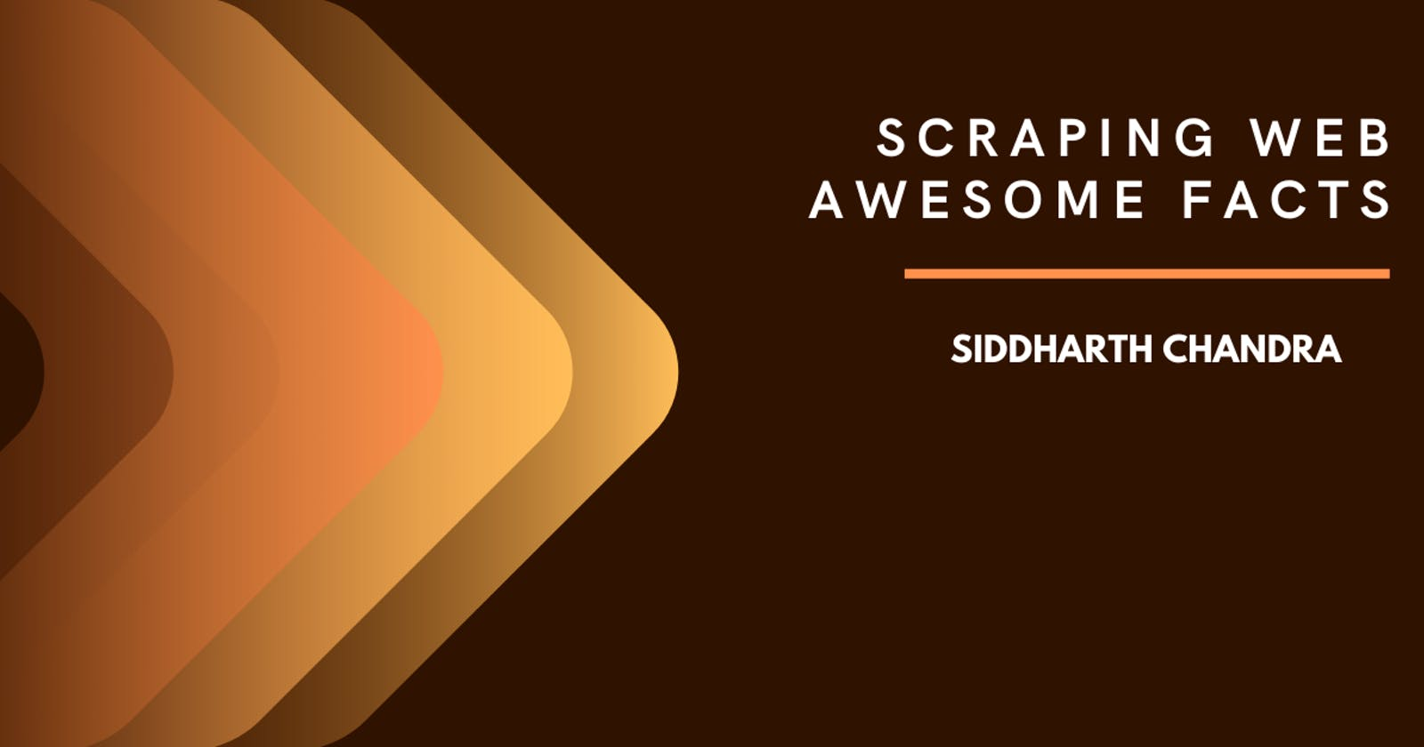 Scraping Web - Awesome Facts