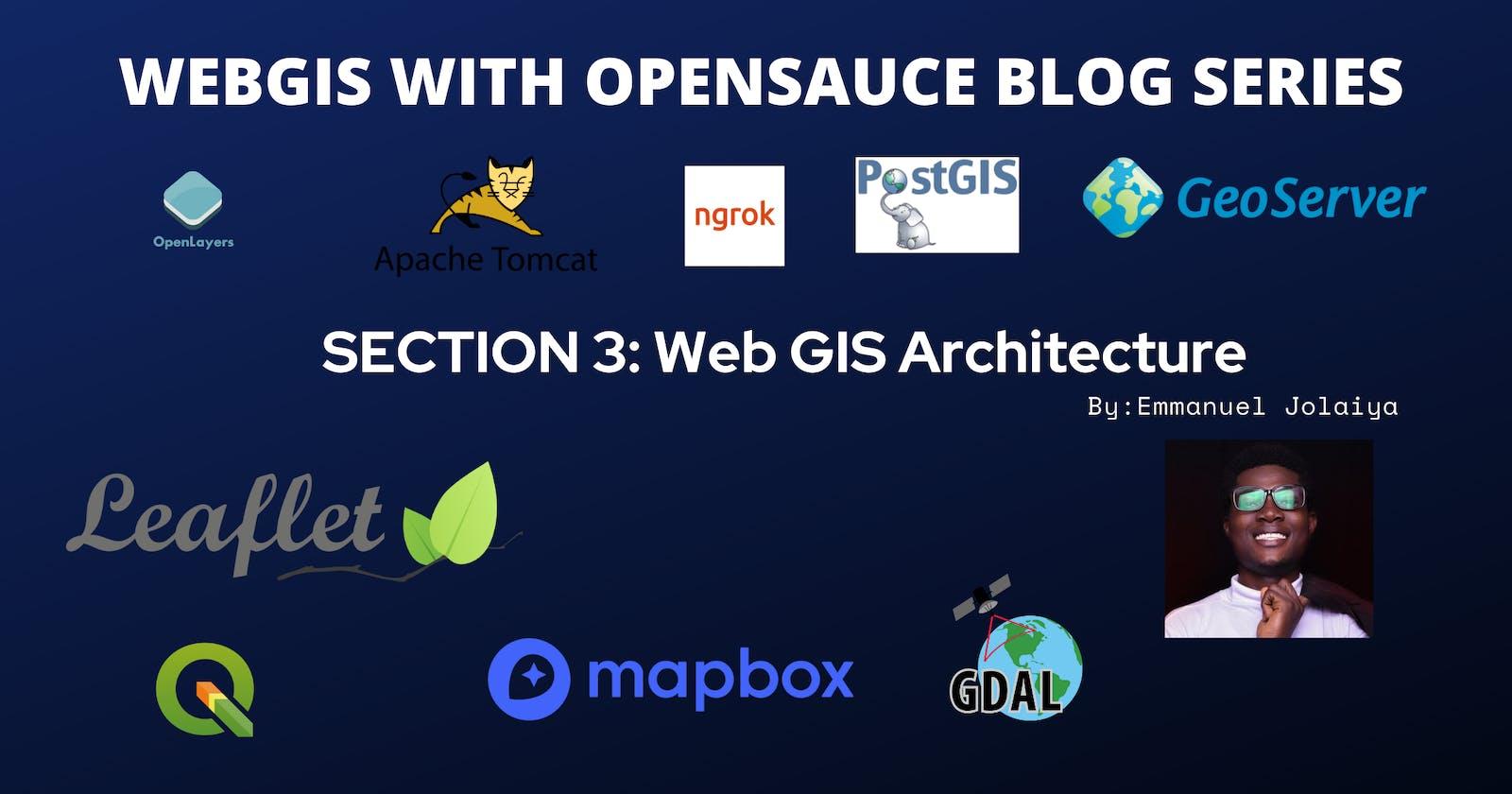Section 3: WebGIS Architecture