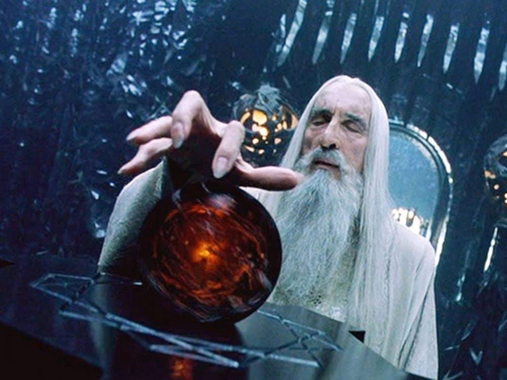 Saruman and his palantír