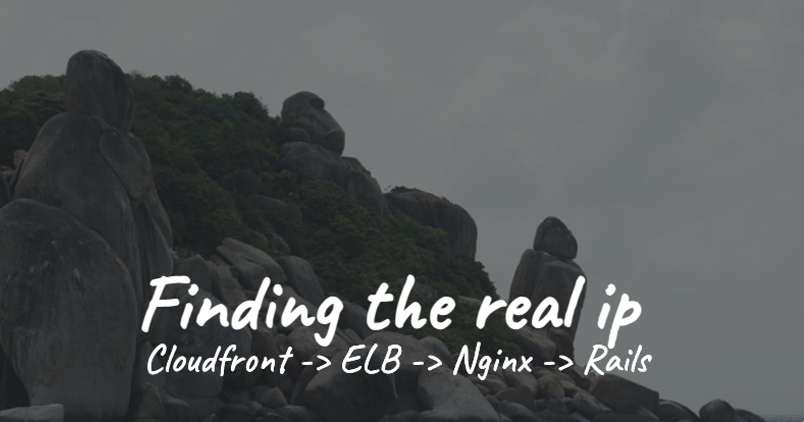 Finding the real ip: Cloudfront -> ELB -> Nginx -> Rails