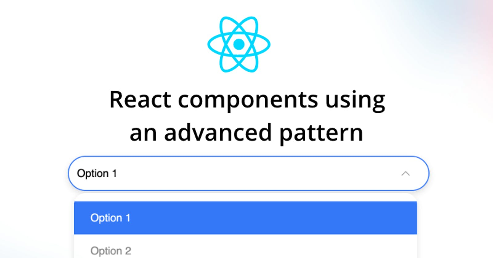 Building highly reusable React.js components using compound pattern
