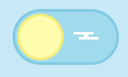 CSS cloud on sun toggle