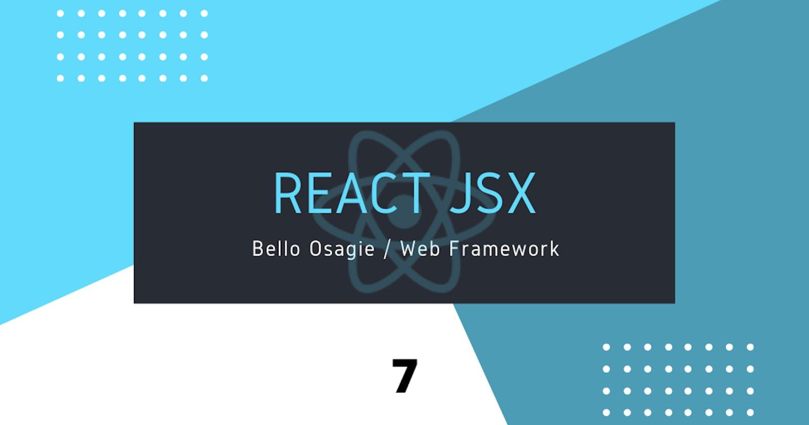 React JSX