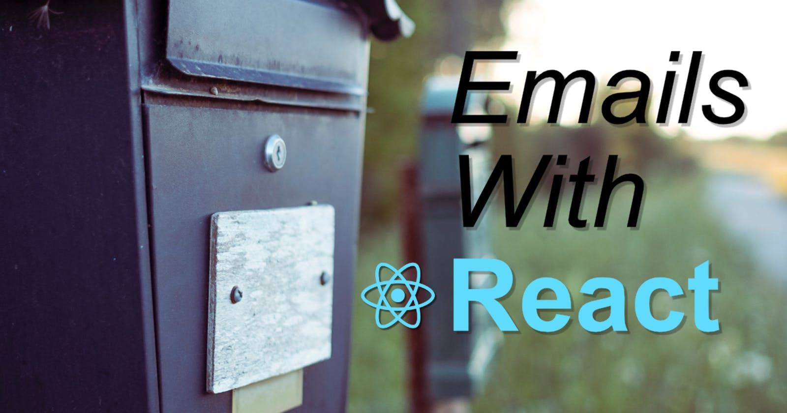 Generate HTML Emails with React on the Server