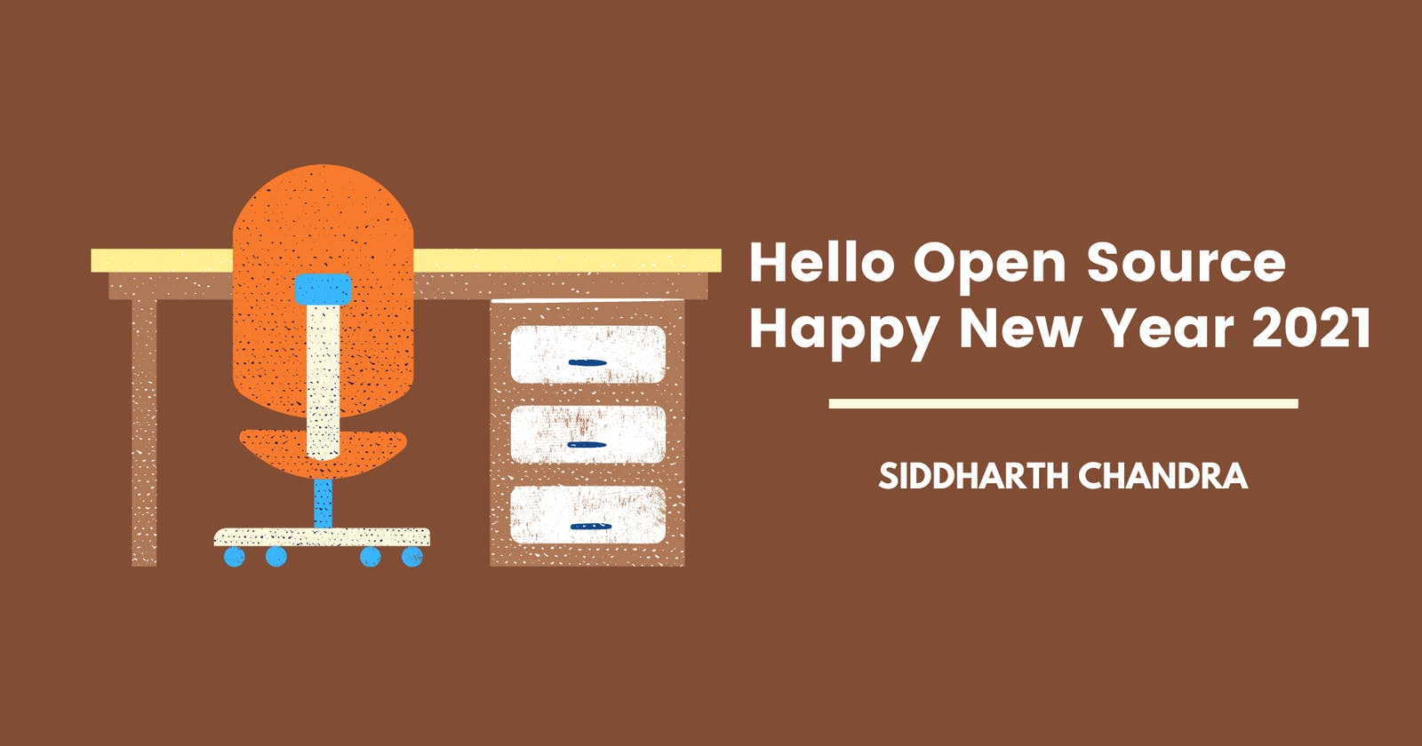 Hello Open Source and Happy New Year 2021 🎉