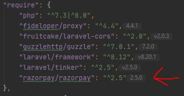 razorpay composer json file.PNG