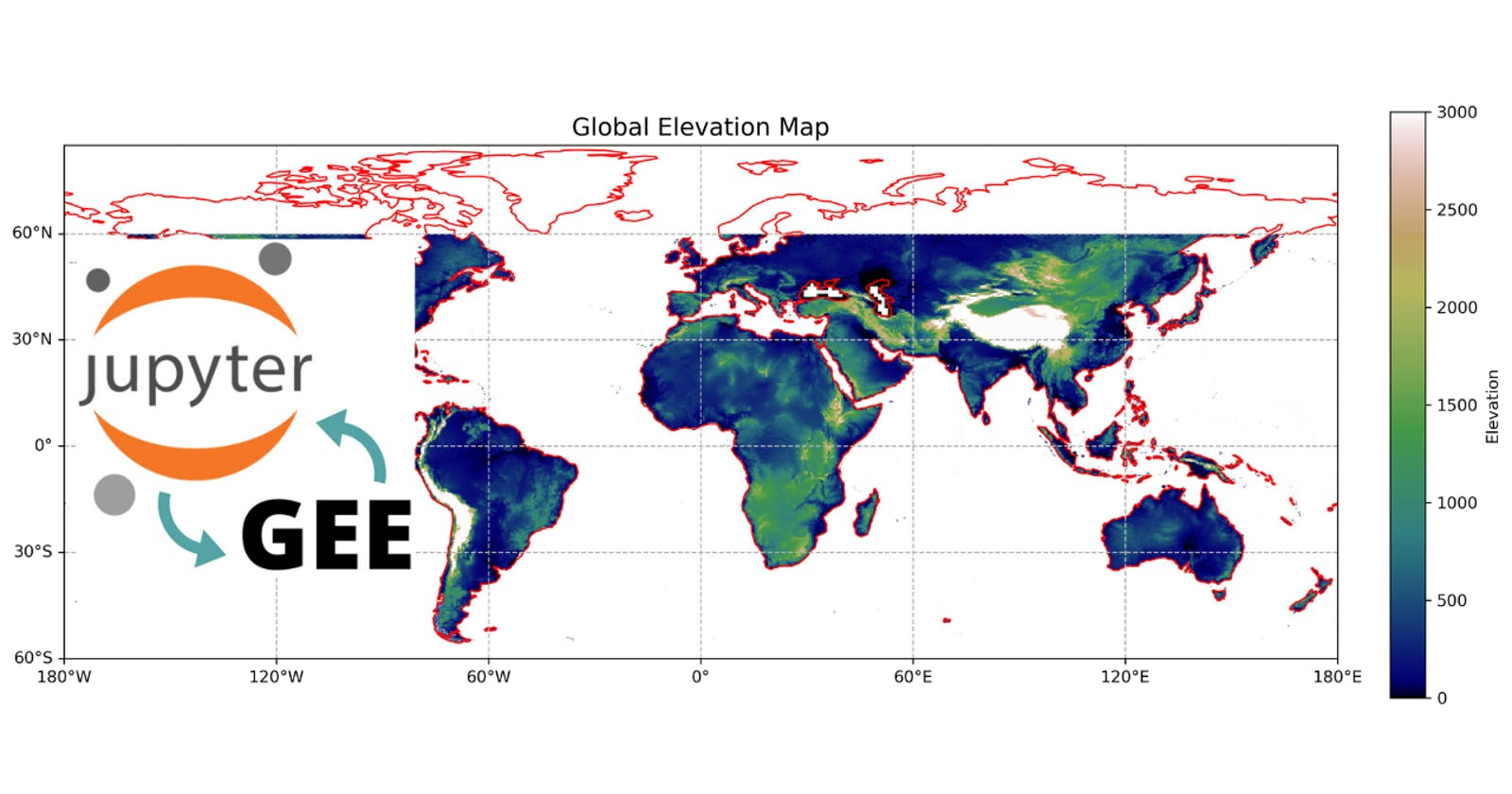 GEE Tutorial #50 - How to create publication quality maps using cartoee