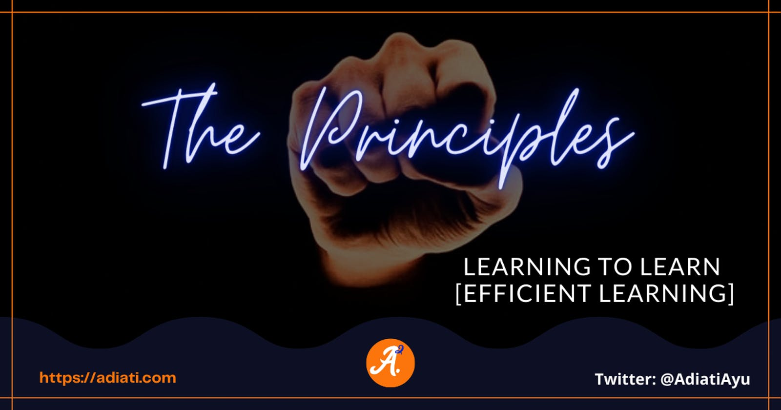 Learning To Learn [Efficient Learning]: The Principles