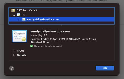 Digital Ocean SSL on droplet