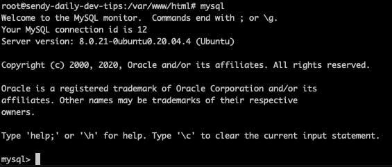 Digital Ocean MySQL mode