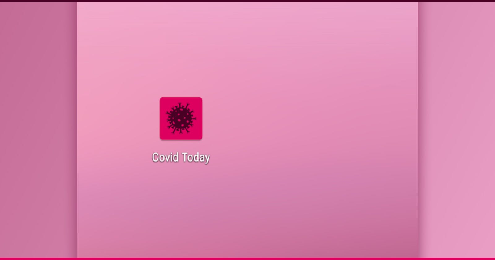 Covid Today Android app