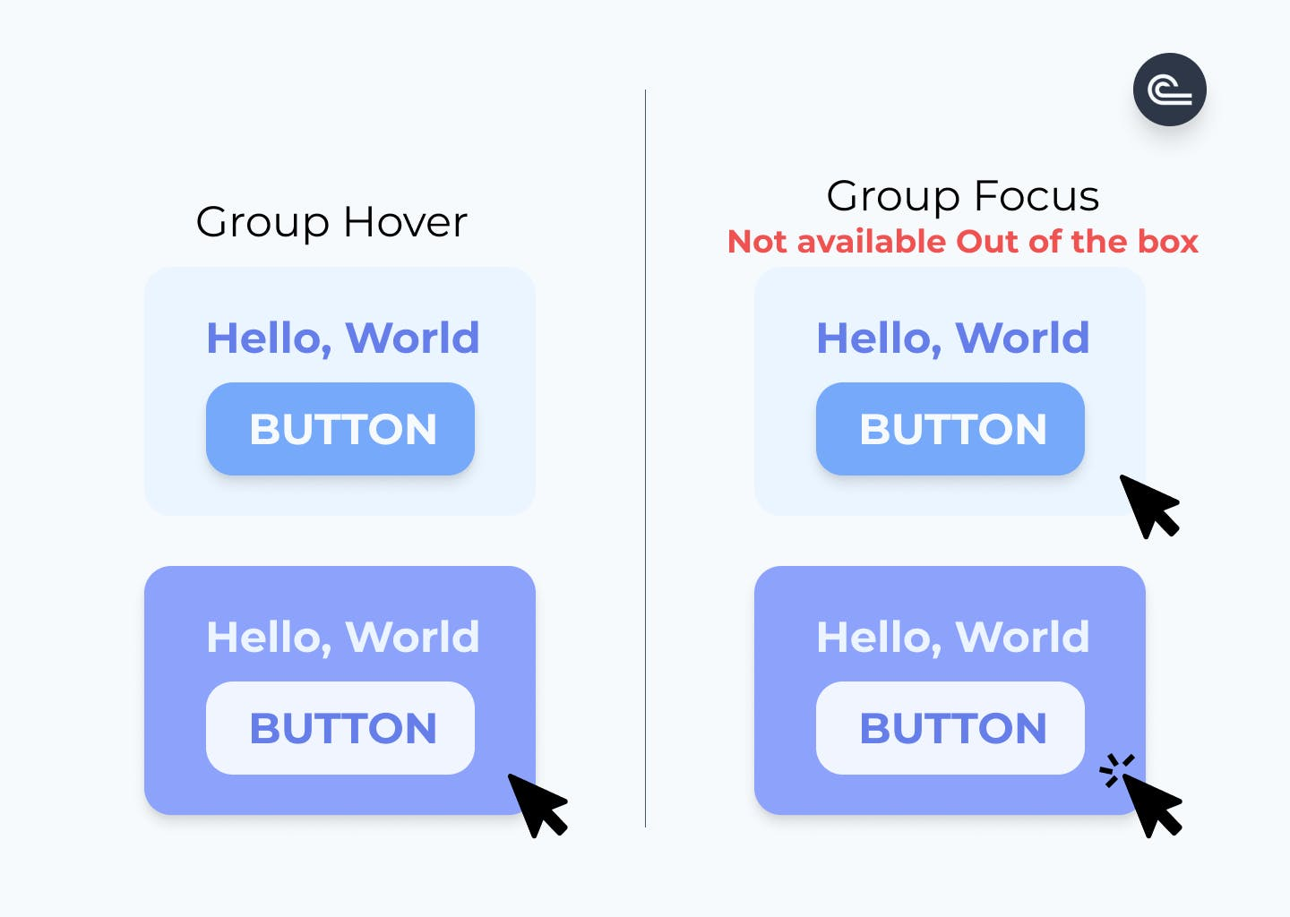 Hover group TailwindCSS