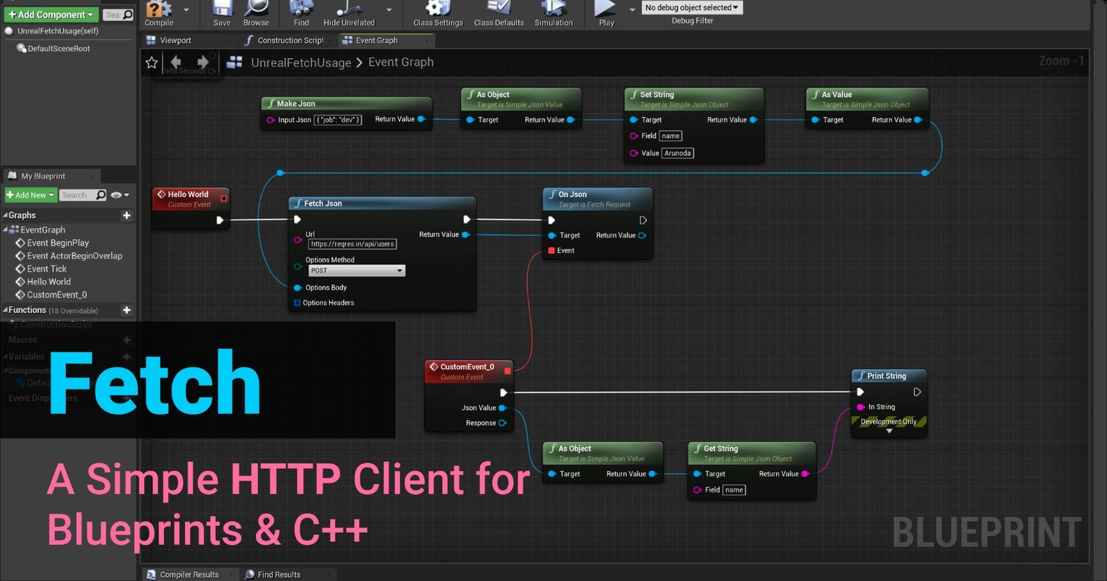 Introducing Fetch - A Simple HTTP Client for Unreal Engine