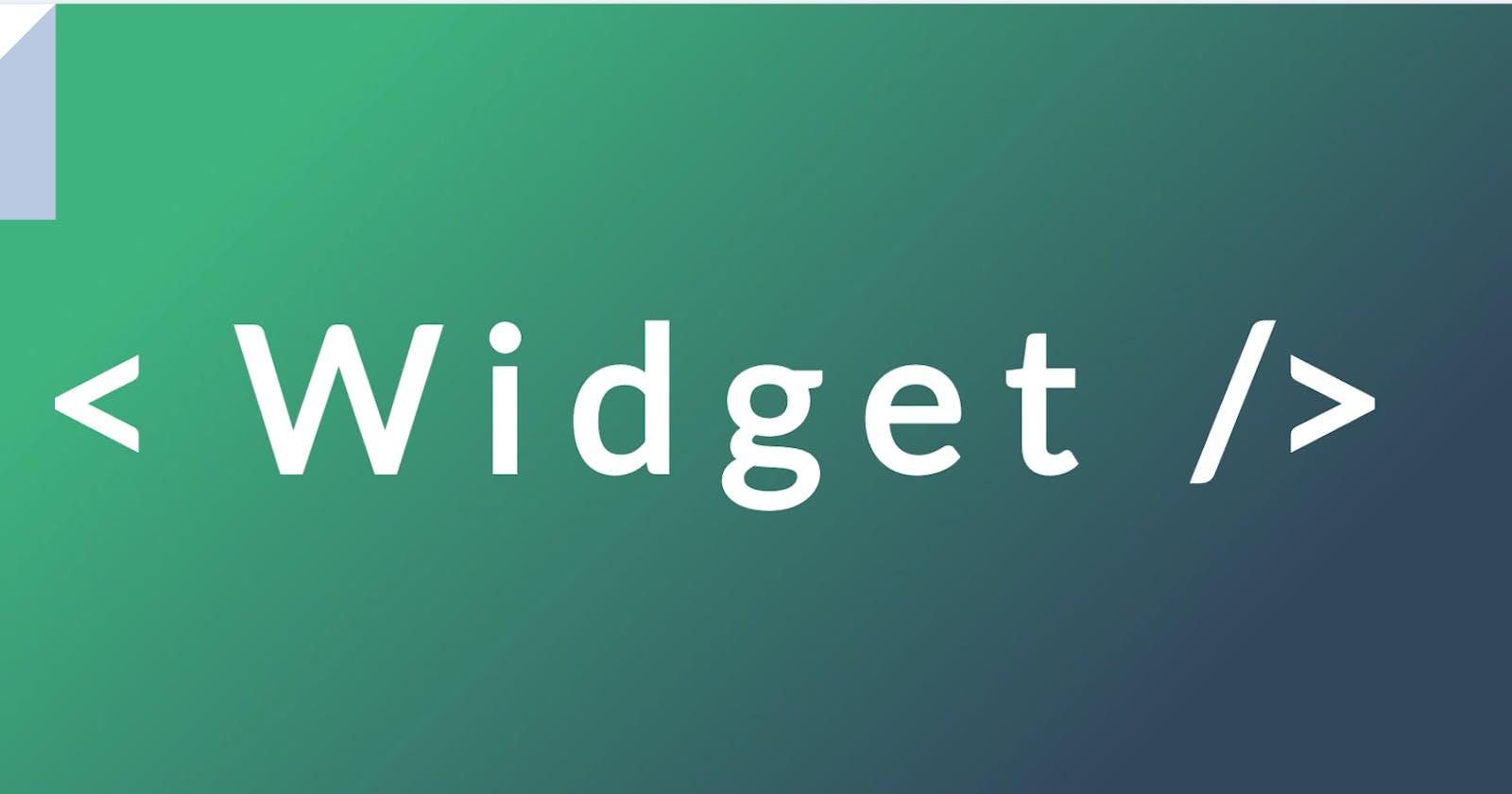 Implementing External Widgets in Vue.js