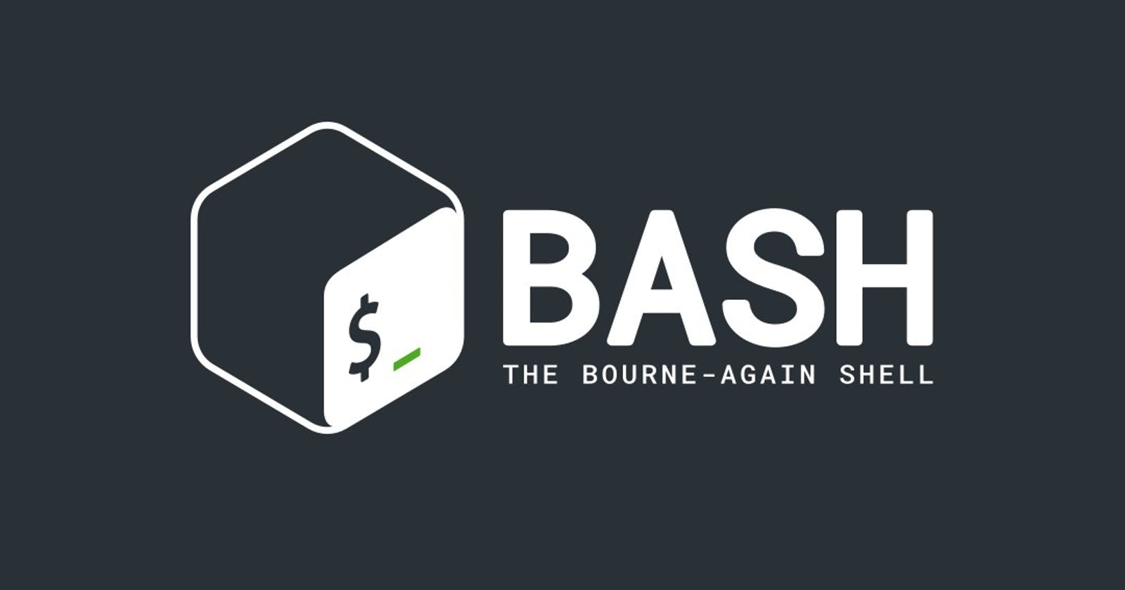 Some Useful Bash/Terminal Commands