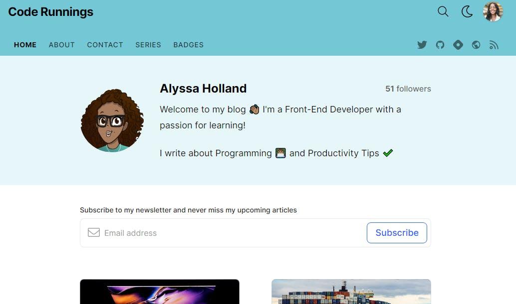 Alyssa's Blog