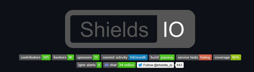 shields badges