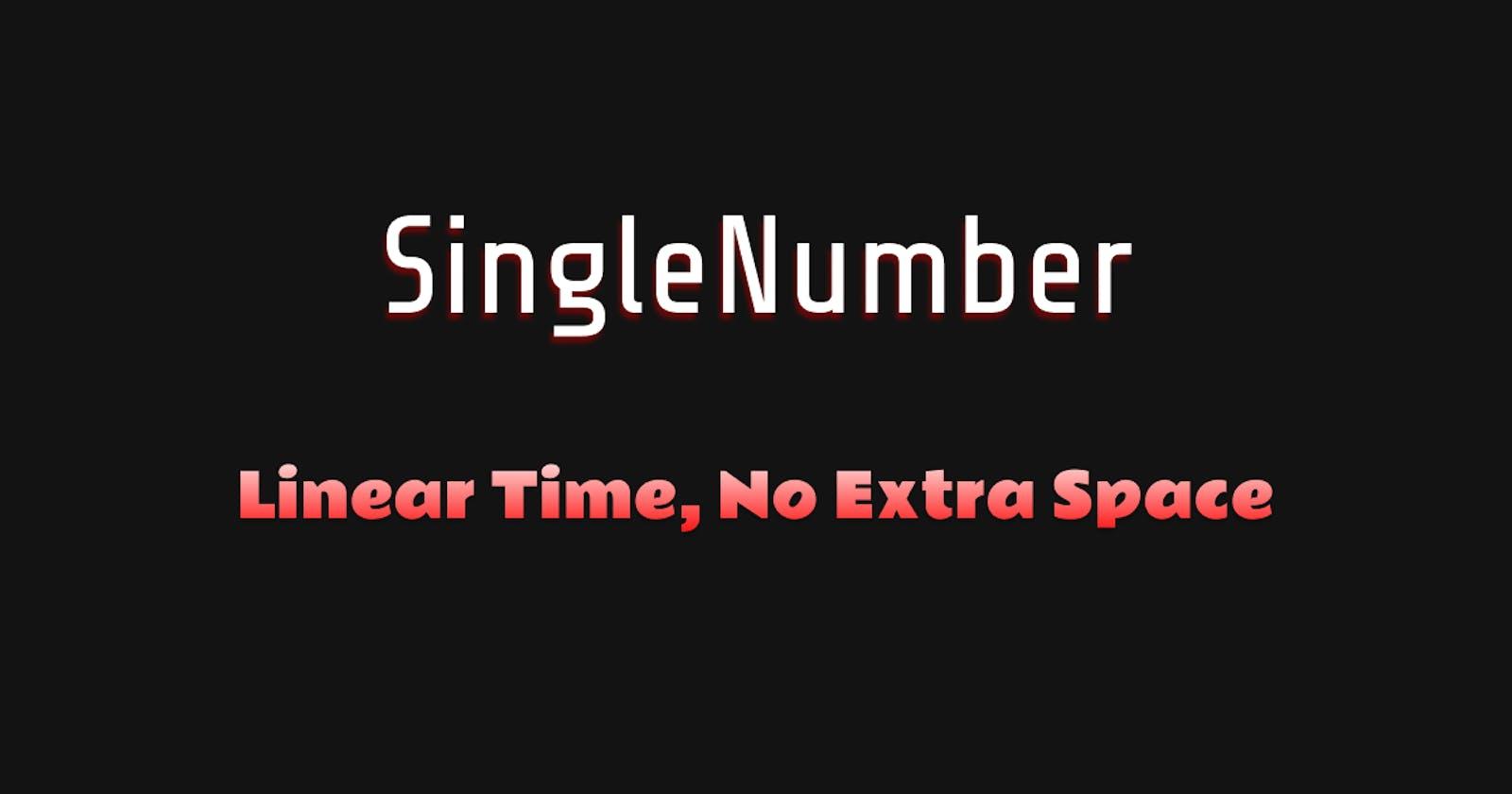 SingleNumber