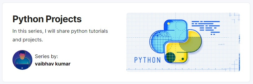 Python Projects Series