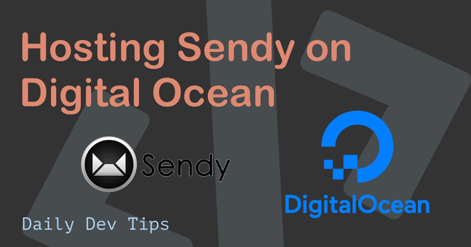 Hosting Sendy on Digital Ocean