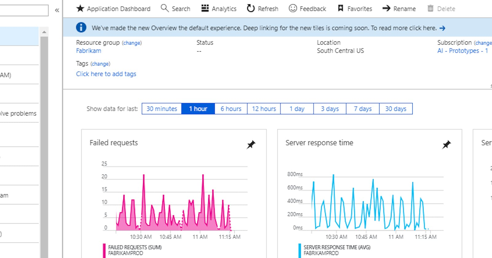 Using Application Insights with a .NET Core WebApp running in a Container