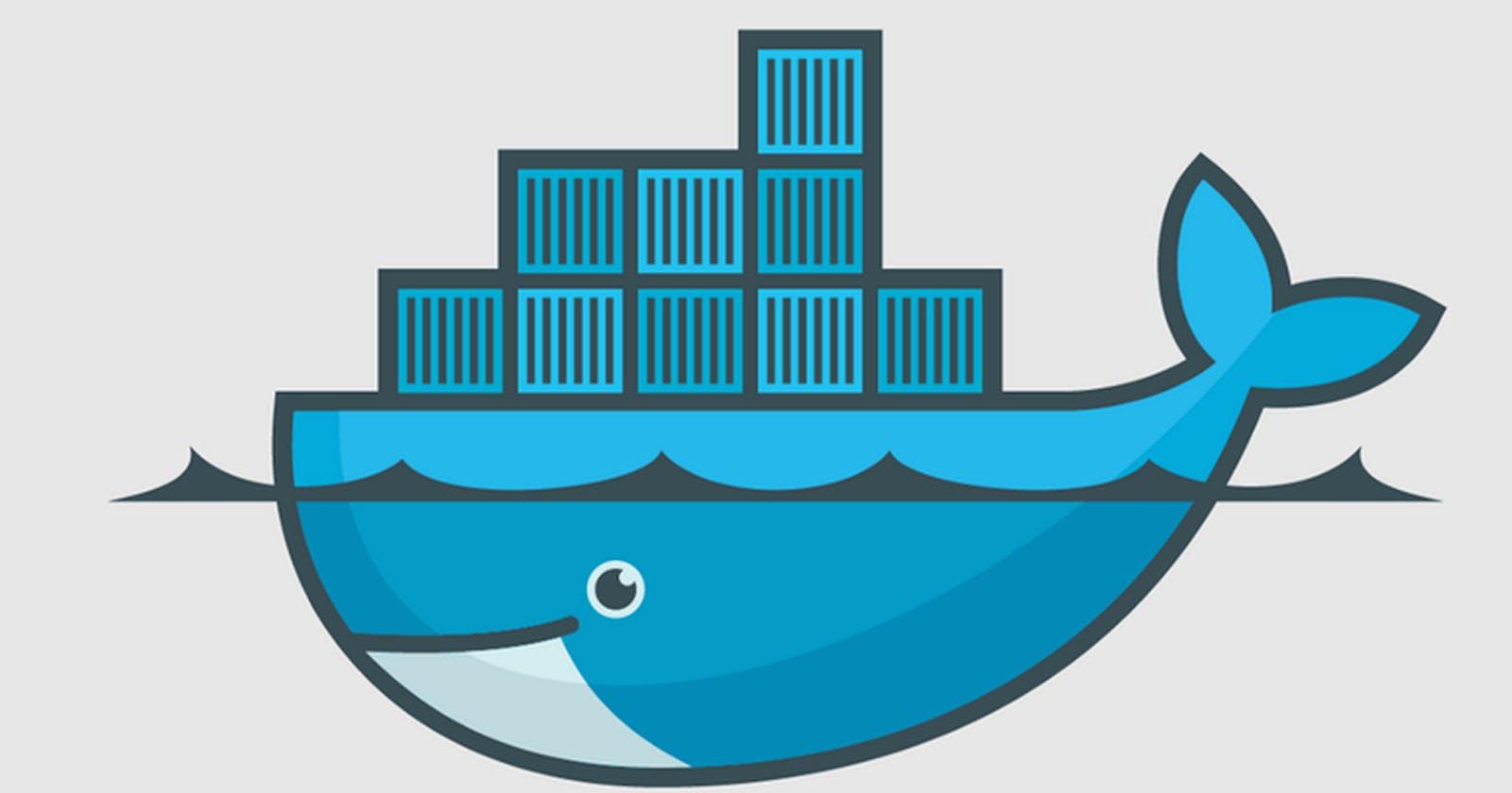Hello Docker 😄 —Part I