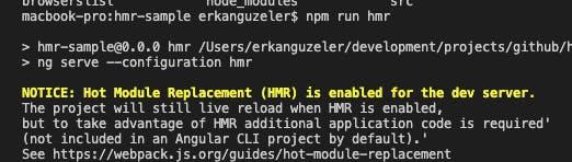 HMR enabled image