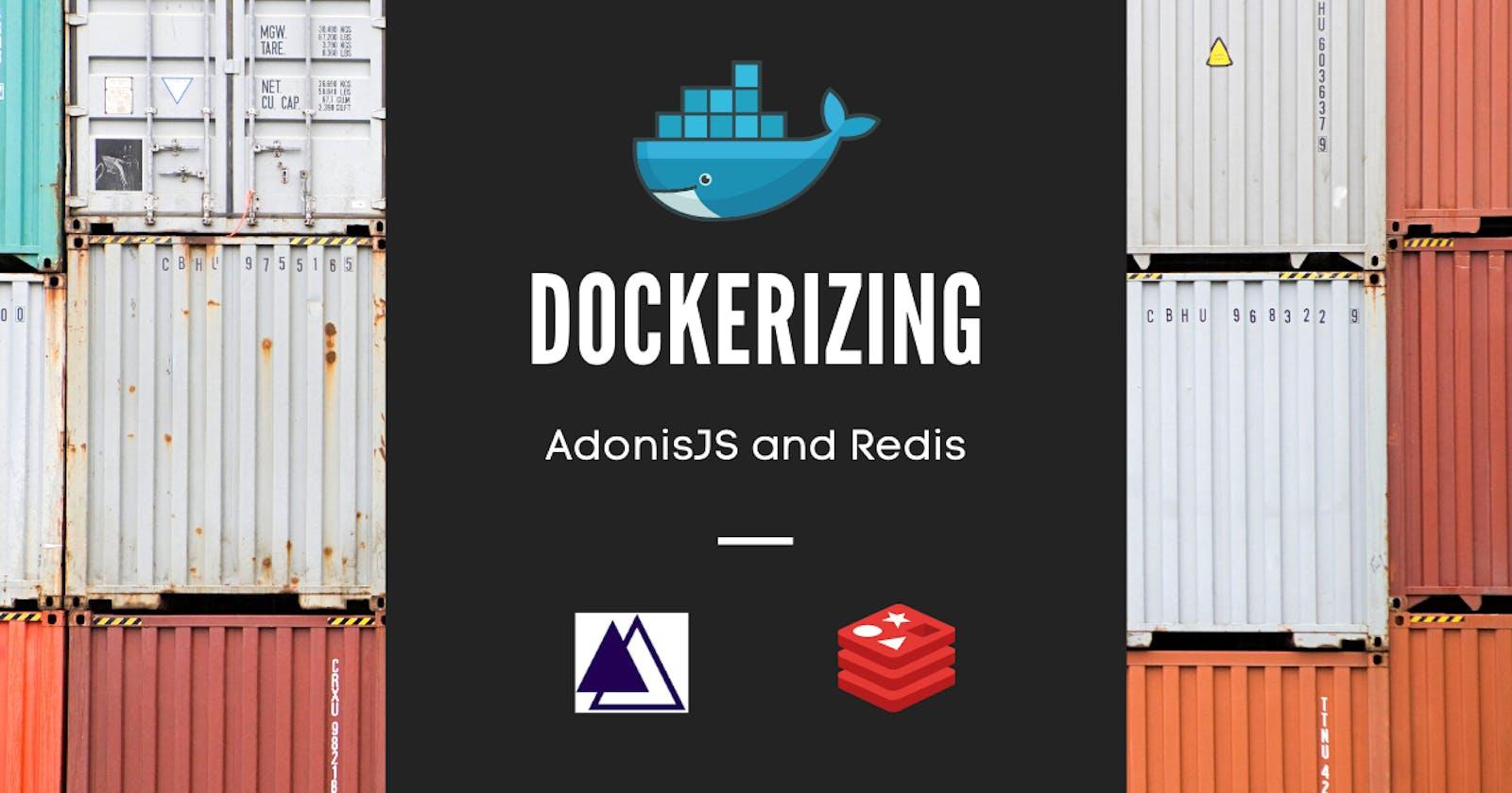Dockerizing AdonisJS and Redis