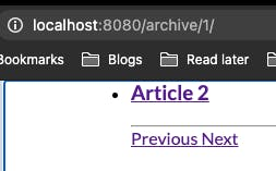 Adding pagination to our blog
