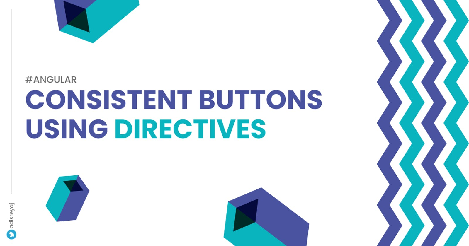 Consistent buttons using directives in Angular